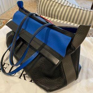 ☄️FLASH SALE💥Furla REAL leather colorblock tote